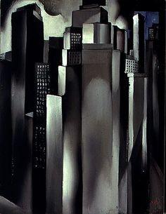Skyscrapers  Tamara de Lempicka