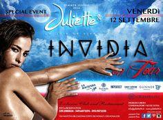 Venerdì 12 settembre | Invidia on tour at Juliette96 Club