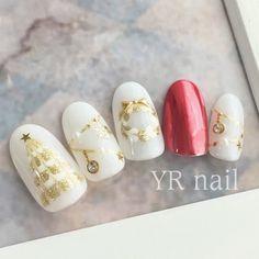 Winter Nail Designs, Christmas Nail Designs, Christmas Nail Art, Cute Nail Designs, Great Nails, Fabulous Nails, Pretty Toe Nails, Cute Nails, Xmas Nails