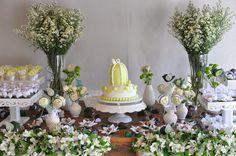 mesa de doces ;