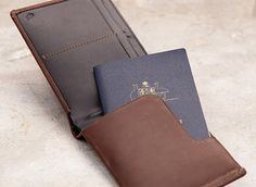 Bellroy Travel Wallet at werd.com .. Great gift for all the travel men in my life