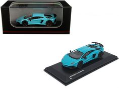 Rubber Tires, Diecast Model Cars, Lamborghini Aventador, Light Blue, Trucks, Truck, Pastel Blue, Cars