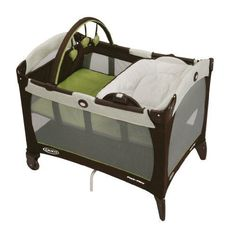 Graco Playards Pack n Play Playard with Reversible Napper and Changer Go Green - http://baby.goshoppins.com/baby-gear/graco-playards-pack-n-play-playard-with-reversible-napper-and-changer-go-green/