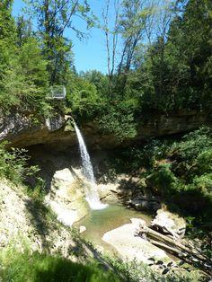 Scheidegger Wasserfalle, Scheidegg, Bayern