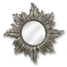 Decorative Antique Silver Star Mirror | From Baytree Interiors
