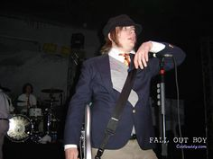 Patrick Stump of Fall Out Boy. I love his outfit here