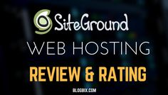 SiteGround Manged WordPress Hosting Review by Real Users #Hosting #Siteground