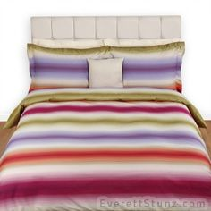 """Parsifal"" a sophisticated stripe by MissoniHome."