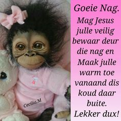 Goeie Nag, Afrikaans Quotes, Cute Quotes, Good Night, Friendship, My Life, Sayings, Wees, Sleep Well
