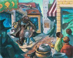Сказочные иллюстрации американской художницы Mary GrandPre к книгам о Гарри Поттере - Ярмарка Мастеров - ручная работа, handmade