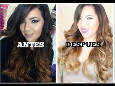 Como decolorar el cabello ♥BeautybyNena