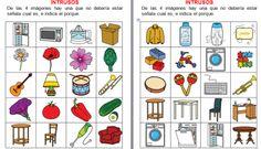 Orientación Andújar: trabajamos la categorización con Intrusos Advent Calendar, Gallery Wall, Teaching, Holiday Decor, School, Speech Therapy, Speech Pathology, Cognitive Activities, Creativity