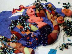 crochet3 Crochet Sculptor Ming Yi Sung