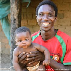 UNICEF Mozambique wishes a Happy Father's Day to all Mozambican fathers.  Today we celebrate #FathersDay in Mozambique, it is a celebration honoring fathers and celebrating fatherhood, paternal bonds, and the influence of fathers in children's lives.  In What Ways Did Your Father Influence Your Life?