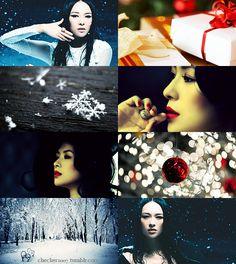 If the Months had Faces - December by ~checkers007 on deviantART - Ziyi Zhang, Zhang Ziyi