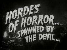 Hordes of Horror...