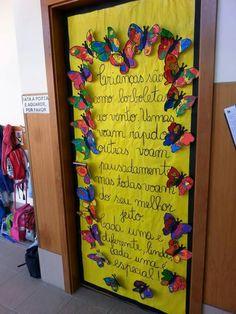 """Mensagem  """" As crianças são como as borboletas...."""""""