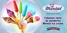 Fabulous taste. So wonderful. Mental Ice Cream #icecream