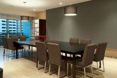 Armoni Apartment grey wall interior | Interior Design Decorating