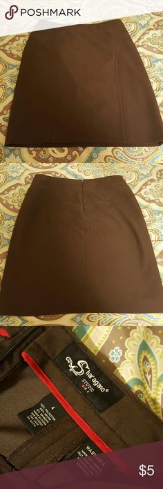 Brown Pencil Skirt Casual pencil skirt & in great condition. Skirts Pencil