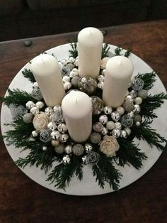 Silver and White Arrangement