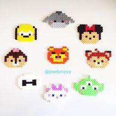 Disney Tsum Tsum perler beads