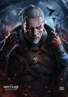 Geralt of Rivia - The Witcher 3: Wild Hunt Created by Sadece Kaan.......!!!!