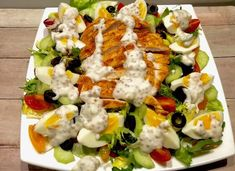 Caprese Salad, Salad Recipes, Grilling, Recipies, Snacks, Chicken, Cooking, Ethnic Recipes, Food
