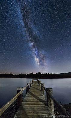 Wow, what a spot to stargaze