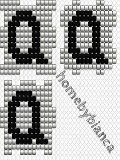 Skabeloner til hama bogstavklodser - Home by Bianca Hama Mini, Hama Beads, Cube, Free Pattern, Cross Stitch, Lettering, Creative, Hama Perler, Bracelets