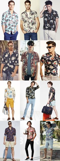 6 Statement Menswear Pieces for Spring/Summer 2015: 4. Men's Floral and Hawaiian Shirts Lookbook Inspiration