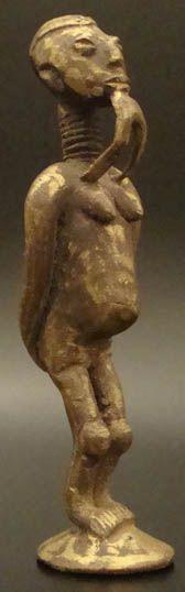 African Brass Art, Ghana #530 | Figures | Metal — Deco Art Africa - Decorative African Art - Ethnic Tribal Art - Art Deco