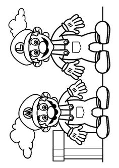 28 Best Coloring Super Mario Images Super Mario Coloring Pages