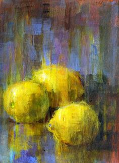Art Talk - Julie Ford Oliver: Slow-dry Lemons