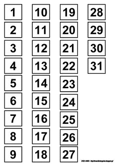Tot School, First Day Of School, Back To School, Number Tricks, Free Printable Numbers, Counting To 20, Calendar Numbers, Writing Boards, Writing Numbers
