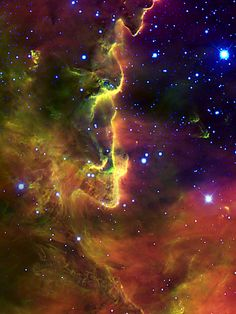 Part of the Lagoon Nebula
