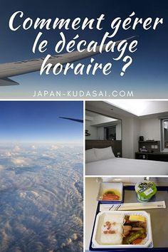 Conseils pour gérer le décalage horaire au Japon #japon #avion #jetlag