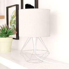 Bloomsbury Market Milena 62cm Table Lamp Set & Reviews   Wayfair.co.uk Tripod Table Lamp, Table Lamp Base, Bedside Table Lamps, Table Lamp Sets, Lamp Bases, Desk Lamp, Buddha Lamp, Uni Room, Contemporary Table Lamps