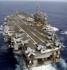 uss kitty hawk cv 63 aircraft carrier cvw-5