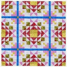 The Quilt Ladies Book Collection: One Large Quilt Pattern Block