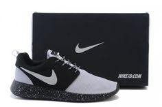 b8b13aa61f11 Womens Mens Nike Roshe Run Custom ID Mesh White Black White Nike Free Runs  For Women