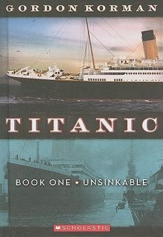 "This is the first book in Gordon Korman's Titanic trilogy. We are introduced to the main characters in this book, which begins when the Titanic leaves Ireland for its official departure from Southampton. Full of colourful characters (pickpockets, gangsters, suffragettes, the ""swells"" and the not-so-swell) and plots twists, it makes for a quick and enjoyable read. And, oh yes, is Jack the Ripper on the voyage? I don't know yet. On to Book Two."