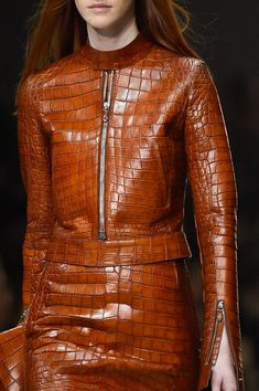 Roberto Cavalli at Milan Fashion Week Spring 2015 Pin Maudjesstyling Coats For Women, Jackets For Women, Clothes For Women, Men's Jackets, Crocodile, Revival Clothing, Milan Fashion Weeks, London Fashion, Fashion Outfits