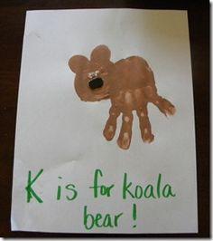Bear Handprint