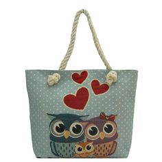 Traditional Tapestry Owl Vintage Canvas Tote Bag NEW #Alfa #TotesShoppers