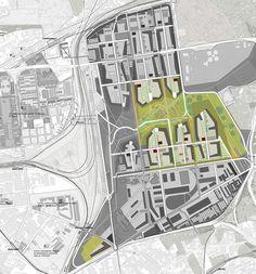 progetto di un parco urbano