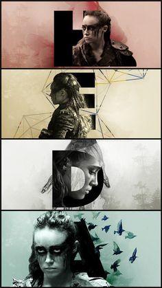 Lexa. Heda. Fan Art.