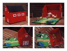 Fabric Dollhouse