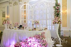 "Nice flowers & decorations by ""WeddingArmenia"". http://weddingarmenia.com/en/flowers-decoration/"