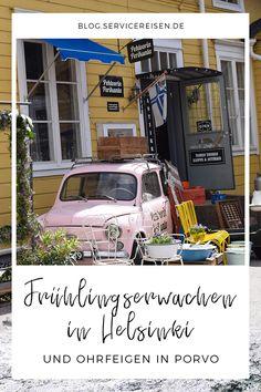 Von der magischen Frühjahrszeit in Finnland #helsinki #porvo #reise #reisen #frühling #travel